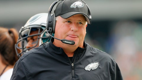 Chip of the Tongue: 9 photos where Chip Kelly's tongue is sticking out