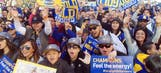 Warriors celebrate NBA championship with parade in Oakland