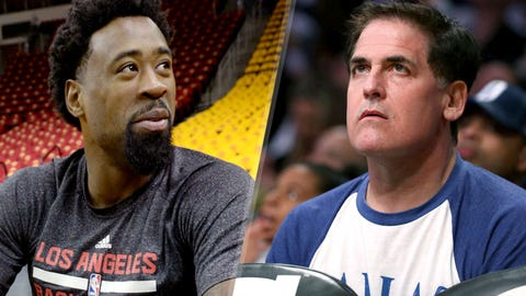 July 8 -- DeAndre Jordan has a change of (heart emoji)