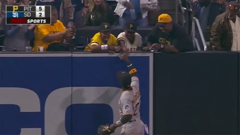 Andrew McCutchen & 'I love you' fans