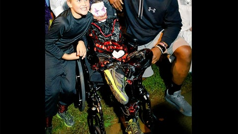 Cam Newton & Elijah Hughes