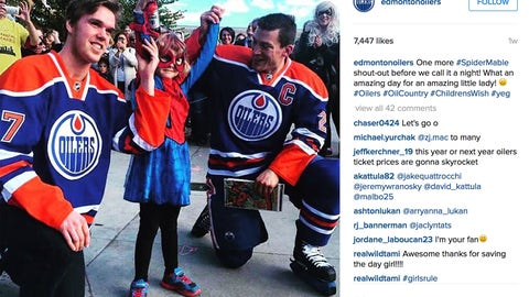 Edmonton Oilers & Spider-Mable