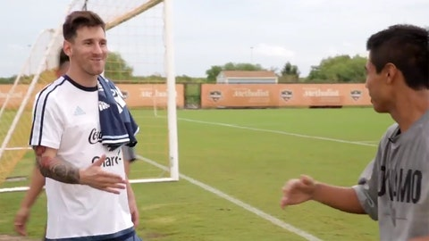 Lionel Messi & 'You got that, right?'
