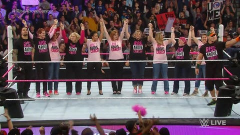 WWE & Breast cancer survivors