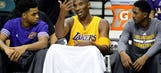 Lakers' Kobe Bryant to play vs. Kings despite his mounting injuries