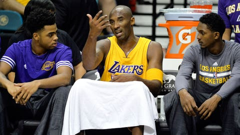 Mentor to the young Lakers of the future