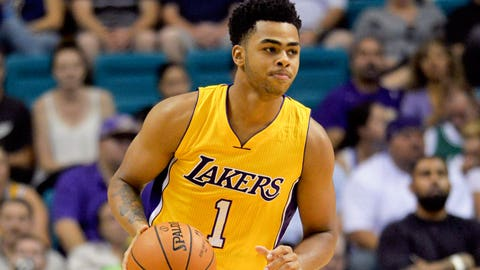 D'Angelo Russell, PG, Los Angeles Lakers