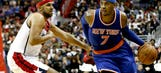 Carmelo feeling it again: Anthony scores 37 as Knicks spoil Wizards' home opener