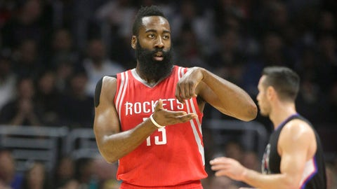 1. James Harden, Houston Rockets