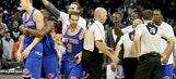 From hero to zero: Knicks lose when Porzingis buzzer-beater waived off