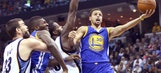 WATCH: This is the insane Stephen Curry shot everyone's talking about