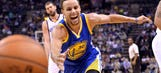 Curry's highlight-reel shots steal show as Warriors improve to 9-0