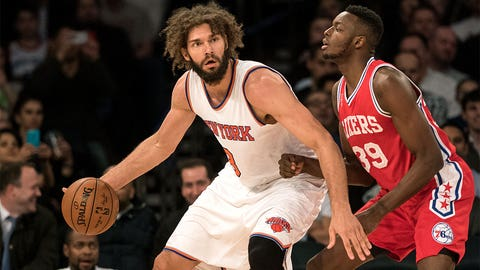 Robin Lopez, New York Knicks