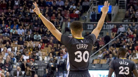 MVP: Stephen Curry, Golden State Warriors