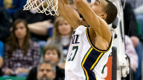 Rudy Gobert is an unstoppable force
