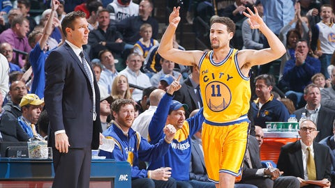 3. Klay Thompson, Golden State Warriors