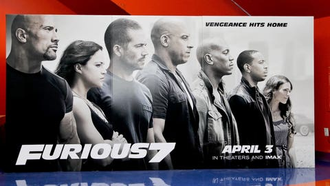 The No. 1 movie in the country: Furious 7
