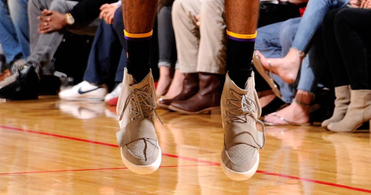 dd66d8d0aeeed Swaggy P wears Kanye s lifestyle Yeezy shoes in game
