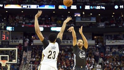 October 31: 134-120 @ New Orleans Pelicans