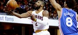Cavs' Big 3 back together, Irving returns in easy win over 76ers