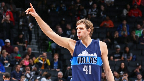 Dirk Nowitzki: 13-time All-Star