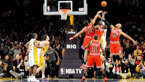 2011: Bulls 88, Lakers 87