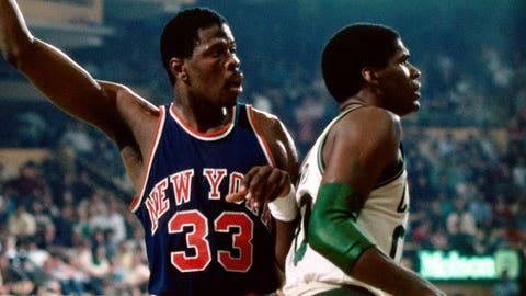 1985: Knicks 113, Celtics 104 (2OT)