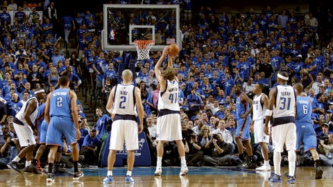 5/17/2011: Dirk earns it from the free-throw line