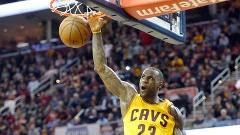 LeBron James for a year: $24.2 million