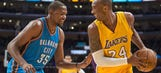 Durant wants to have the work ethic of Kobe