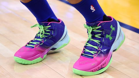 Stephen Curry's ready for the bright 'Lights'