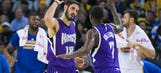 WATCH: Omri Casspi hits career-high seven 3-pointers during first half