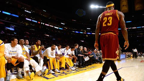 Cavaliers at Lakers: March 10, 10:30 p.m. ET (TNT)