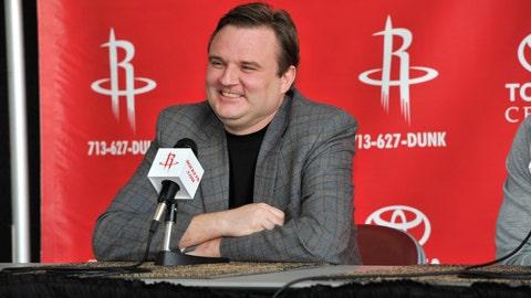 Daryl Morey, GM, Houston Rockets