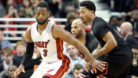 Bulls at Heat: April 7, 8 p.m. ET (TNT)