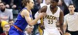 New Laker Hibbert on Pacers prez Larry Bird: 'Larry changed my life'