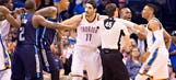 Mavs PA announcer takes Twitter shot at Thunder after scuffle