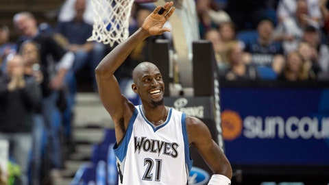Kevin Garnett: 15-time All-Star