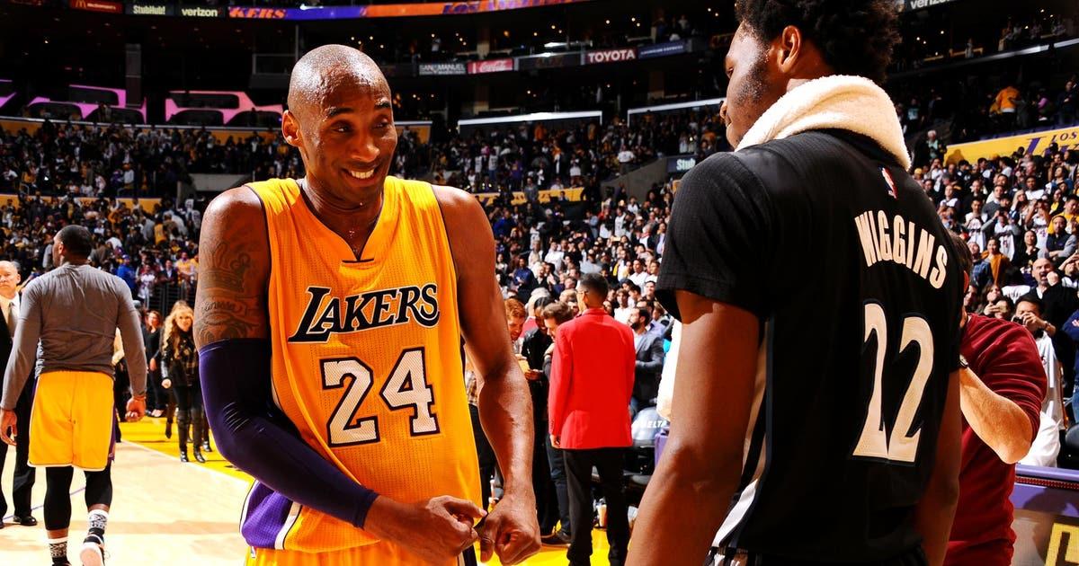 the best attitude 7808f 113ca Watch Minny s Wiggins do a perfect Kobe impression...on Kobe   FOX Sports