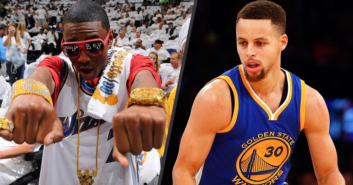 7839909dacb2 Stephen Curry doesn t seem to love Soulja Boy s recent song about him