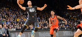 Your turn, Cam: Curry gets win he predicted, Warriors run past Thunder