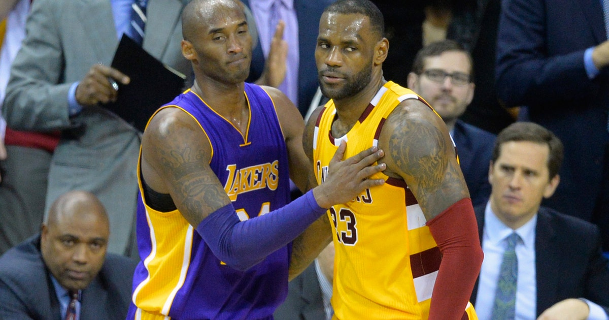 LeBron James shares why Kobe Bryant was his childhood role ...