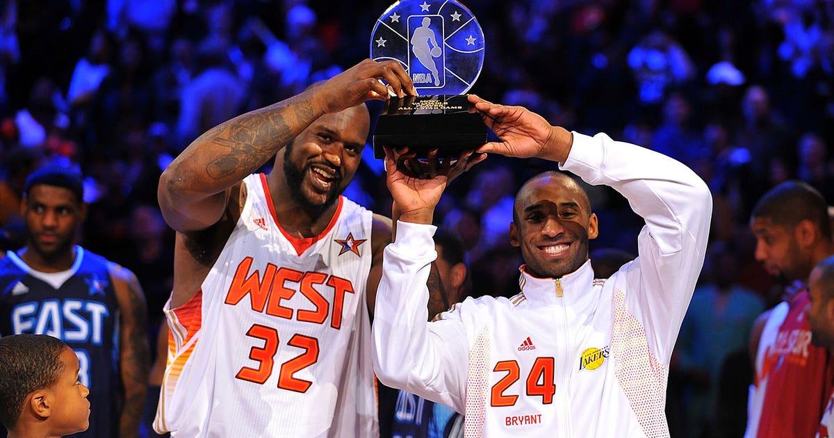 b523553df075 Shaq thinks Kobe will try to win All-Star Game MVP award