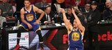 Klay Thompson beats teammate Steph Curry to win 3-point contest