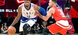 Point shy of Wilt Chamberlain record, Paul George keeps it 100 at All-Star Game