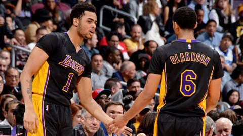 And they unleashed their young backcourt