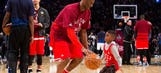 Chris Paul's 6-year-old son stole the ball from Kobe Bryant