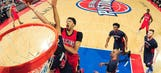 Anthony Davis torches Pistons, goes for 59 points and 20 rebounds