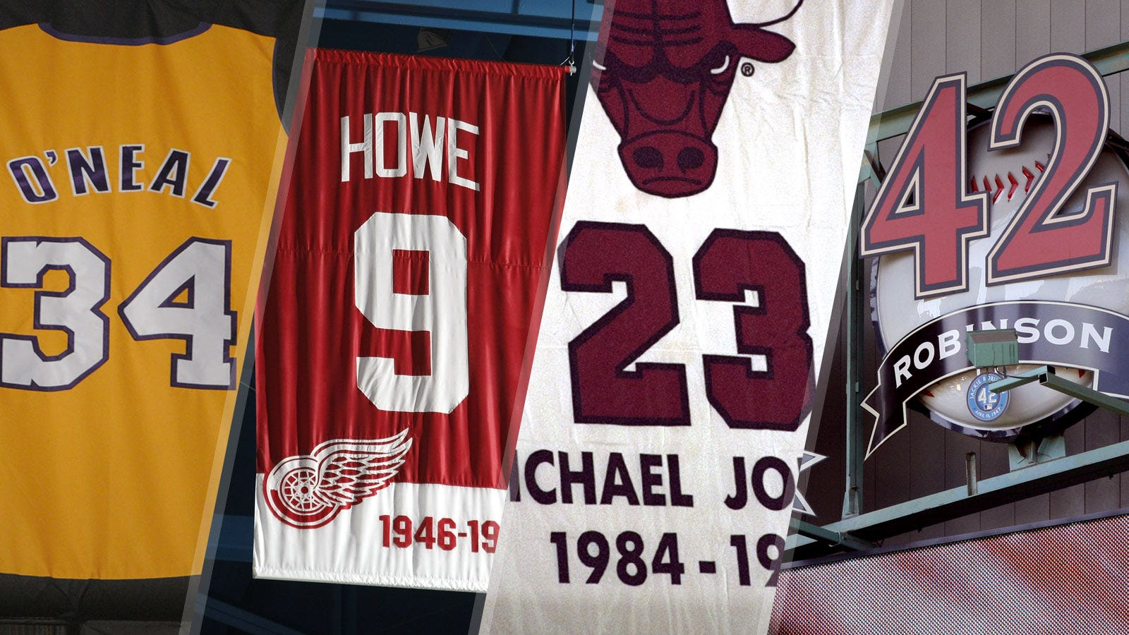 Shaq and 31 more athletes with numbers retired by multiple teams ... bb92f8e99