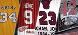 Shaq and 31 more athletes with numbers retired by multiple teams